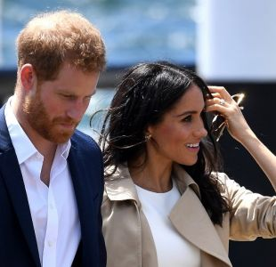 [VIDEO] Príncipe Harry se sorprende con mini me de Meghan Markle