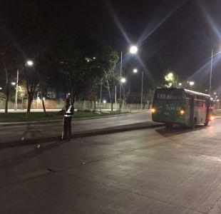 Peatón muere tras ser atropellado por bus del Transantiago en Maipú
