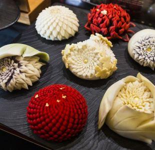Qué son los wagashi, los impresionantes dulces con que los japoneses acompañan su té