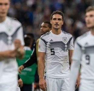 Cómo pasó Alemania de ser admirada por su fútbol a estar a un paso del descenso en Europa
