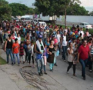 [VIDEO] Trump amenaza a caravana de hondureños
