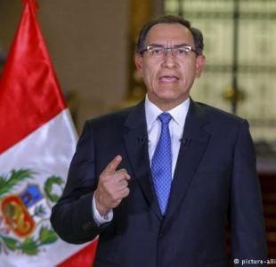 Presidente de Perú acepta renuncia el ministro del Interior tras fuga de exjuez