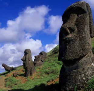 La nueva teoría sobre el misterio de la ubicación de los moais en la Isla de Pascua