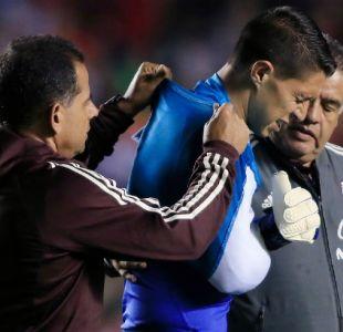 [FOTO] El mensaje de Claudio Bravo al portero mexicano que jugó ante La Roja