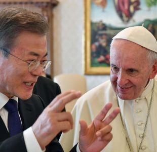 Corea del Sur asegura que el Papa estaría dispuesto a viajar a Corea del Norte