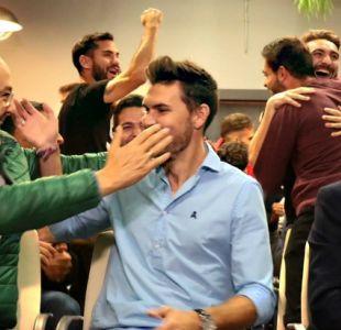 [VIDEO] El alocado festejo de modesto equipo español al enterarse que enfrentará a Barcelona