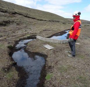 Greenpeace realiza denuncia ante la SMA por derrame de petróleo en Tierra del Fuego