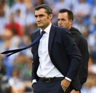 Técnico del Barcelona admite que conversó con Vidal por sus quejas en redes sociales