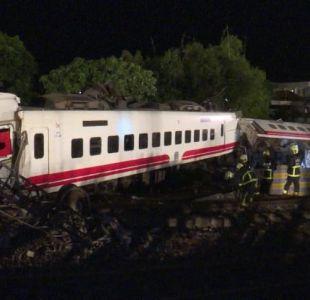 [VIDEO] El peor accidente ferroviario de Taiwán