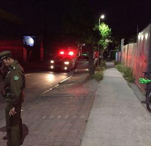 [VIDEO] Carabinero fue víctima de robo frustrado en San Joaquín