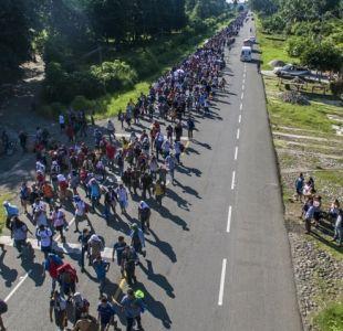 Migrantes siguen su camino por México pese a riesgos y advertencia de Trump