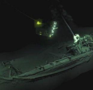 Mar negro: encuentran el naufragio intacto más antiguo del mundo