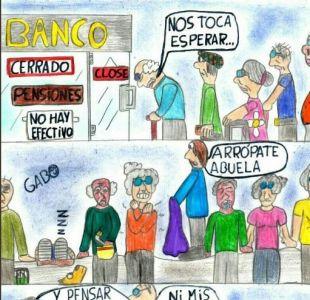 [VIDEO] El adolescente de 13 años que retrata la crisis de Venezuela en caricaturas políticas