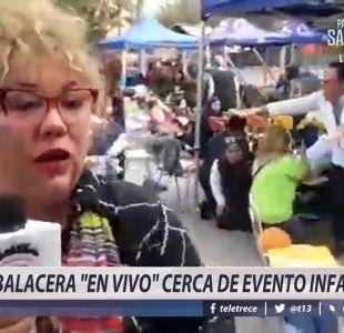 [VIDEO] Balacera en vivo cerca de evento infantil en Bajos de Mena