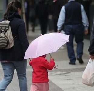 Onemi decreta Alerta Temprana Preventiva para ocho comunas de Santiago por precipitaciones