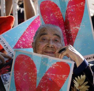 Fallece Ana González de Recabarren, figura clave en la búsqueda de detenidos desaparecidos