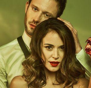 """Actores de """"Pacto de sangre"""" impactan con sangrienta sesión de fotos"""