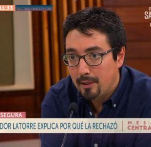 """[VIDEO] Juan Ignacio Latorre sobre """"Aula Segura"""": """"El proyecto es nefasto"""""""
