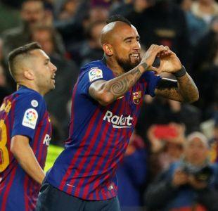 Arturo Vidal es titular en duelo del Barcelona por la Copa del Rey
