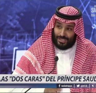 """[VIDEO] Las """"dos caras"""" del príncipe saudita"""
