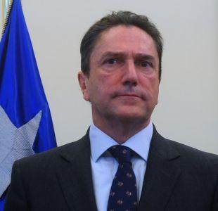 Caso Ascar: Ex ministro Gómez declara como imputado en presunto fraude en el Sename