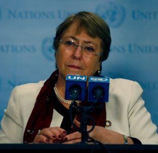 Bachelet asegura que estarán atentos al respeto a los DD.HH en Brasil tras triunfo de Bolsonaro