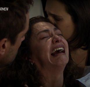 [VIDEO] Tamara Acosta impactó al público con desoladora escena en Pacto de Sangre