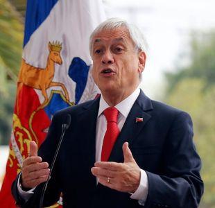 [VIDEO] Piñera llama a aprobar Aula Segura tras ataque a oficina de rector del INBA