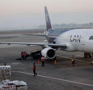 Avión de Latam aterriza de emergencia en Argentina por granizos
