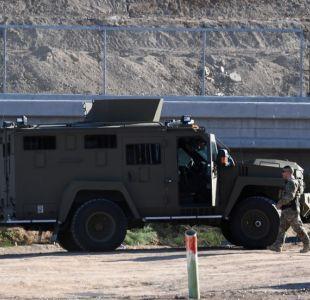 Trump dice que podría enviar hasta 15.000 efectivos a la frontera con México