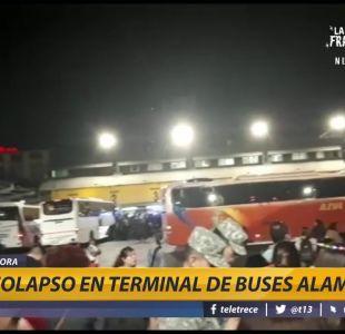 [VIDEO] Fin de semana largo: Colapso en terminal de buses y alto flujo vehicular en Ruta 5 Sur