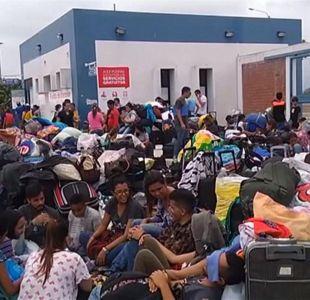 [VIDEO] Venezolanos colapsan frontera de Perú