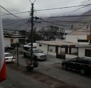 [FOTOS Y VIDEOS] Así se registró el fuerte sismo en la zona norte del país
