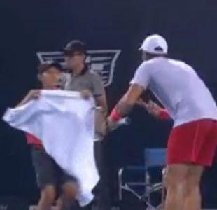 Las cuestionadas disculpas de tenista español tras repudiable gesto con un pasapelotas