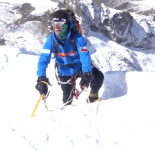[VIDEO] Chileno subió las tres cumbres más altas del mundo