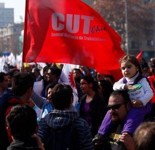 CUT convoca a movilización contra los proyectos emblemáticos del gobierno