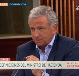 [VIDEO] Felipe Larraín asegura que no importa quién administre las pensiones, sino que lo hagan bien