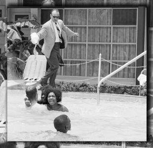 Elecciones en EEUU: la imagen de un hombre blanco lanzando ácido sobre unas jóvenes negras
