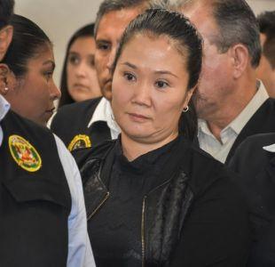 Keiko Fujimori recibe la visita de su hermano Kenji en prisión de Lima