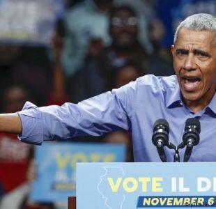 Obama critica a republicanos por usar tema de caravana migrante