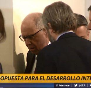 Accidente marca actividad de Piñera en La Moneda