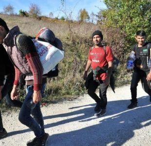 La caravana de miles de migrantes olvidada en Europa