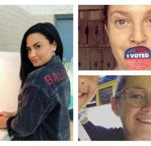 Rihanna, DiCaprio y el regreso de Demi Lovato: así votaron los famosos en elecciones en EE.UU