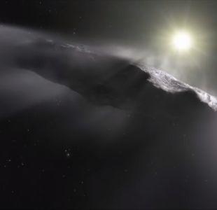 [VIDEO] Nave extraterrestre podría haber visitado el sistema solar