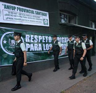 [VIDEO] Huelga de gendarmes: Funcionarios aún no sellan acuerdo con el gobierno