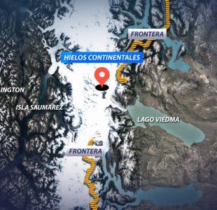 [VIDEO] ¿Un nuevo volcán en campo de hielo sur?