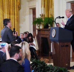 [VIDEO] Casa Blanca suspende credencial de prensa de reportero de CNN que se enfrentó a Trump