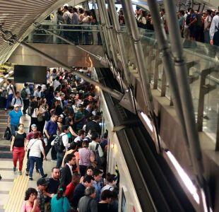 El motivo que demoró la reposición del servicio de Metro tras el corte de luz en Santiago