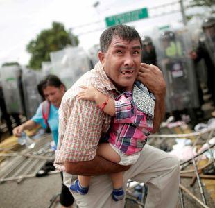 [FOTOS] La caravana de migrantes camino a Estados Unidos: las imágenes y sus historias