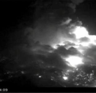 [VIDEO] Captan nuevo pulso eruptivo en complejo volcánico Nevados de Chillán